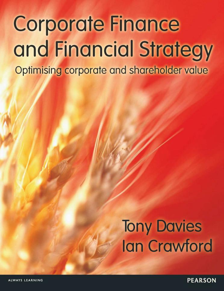 Corporate Finance and Financial Strategy – Optimising Corporate and Shareholder Value