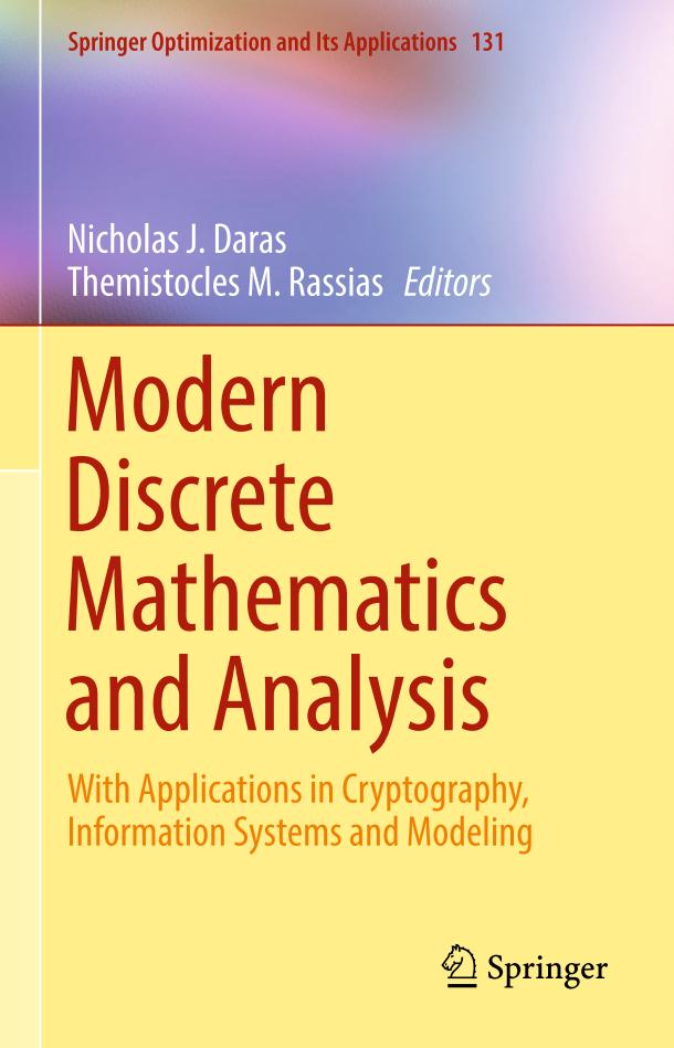 Modern Discrete Mathematics and Analysis – With Applications in Cryptography, Information Systems and Modeling
