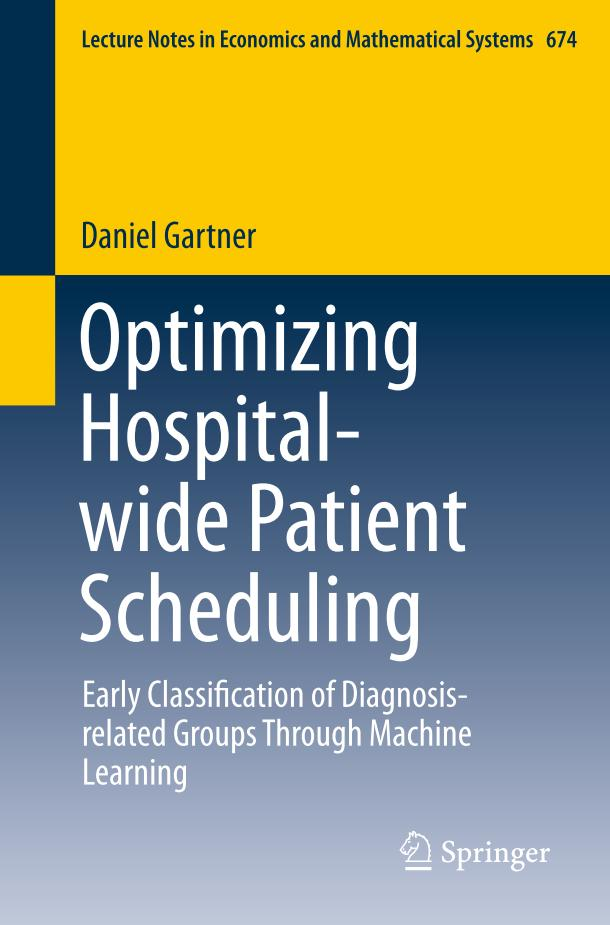 Optimizing Hospital-wide Patient Scheduling – Early Classification of Diagnosis-related Groups Through Machine Learning