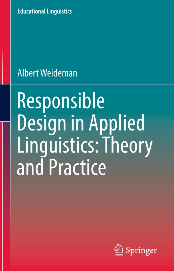 Responsible Design in Applied Linguistics – Theory and Practice