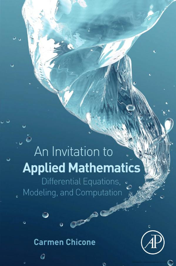 An Invitation to Applied Mathematics – Differential Equations, Modeling, and Computation