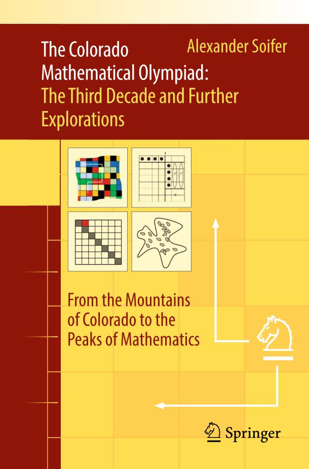 The Colorado Mathematical Olympiad – The Third Decade and Further Explorations