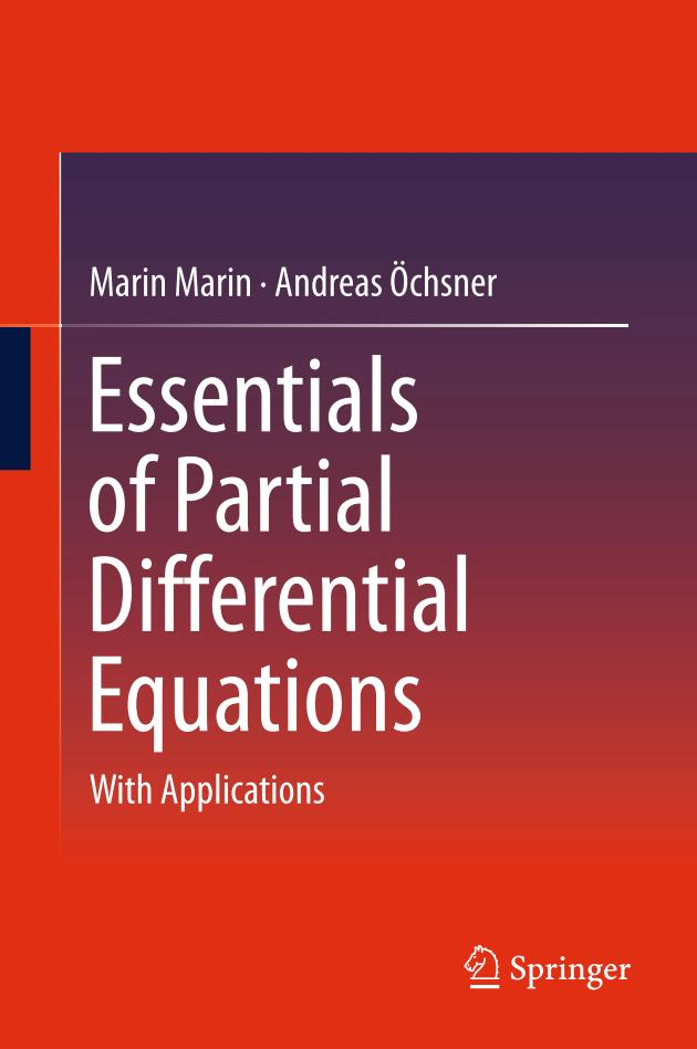 Essentials of Partial Differential Equations – With Applications
