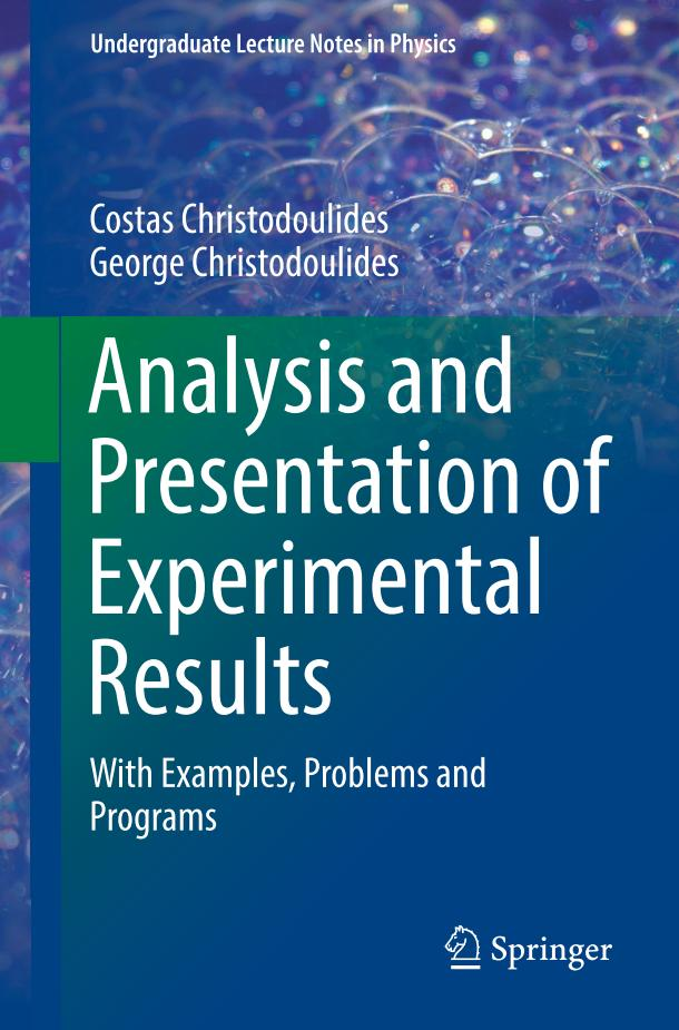 Analysis and Presentation of Experimental Results – With Examples, Problems and Programs