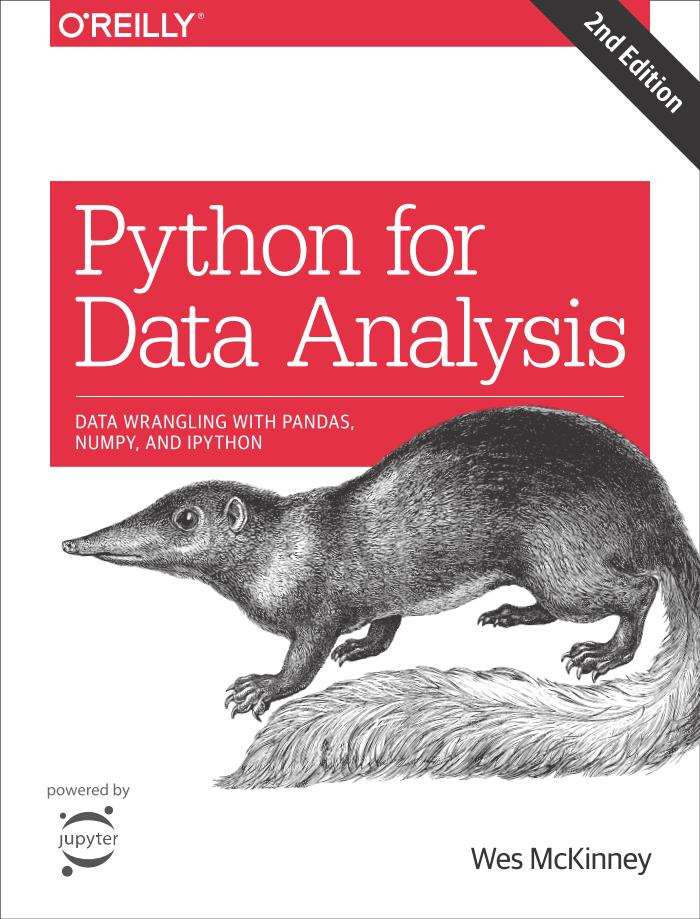 Python for Data Analysis – Data Wrangling with Pandas, NumPy, and IPython (2nd Edition)