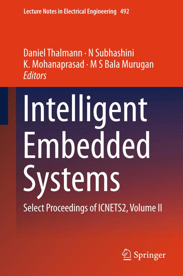 Intelligent Embedded Systems – Select Proceedings of ICNETS2, Volume II