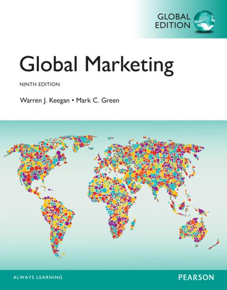 Global Marketing (Keegan, 9th Global Edition)