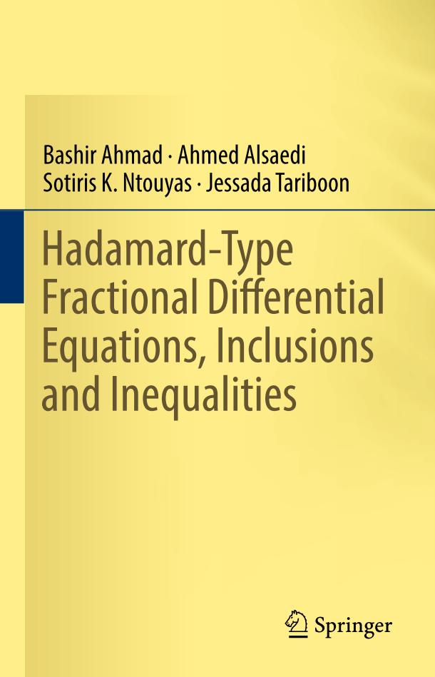 Hadamard-Type Fractional Differential Equations, Inclusions and Inequalities