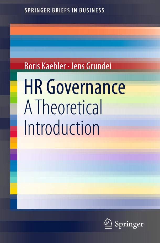HR Governance – A Theoretical Introduction
