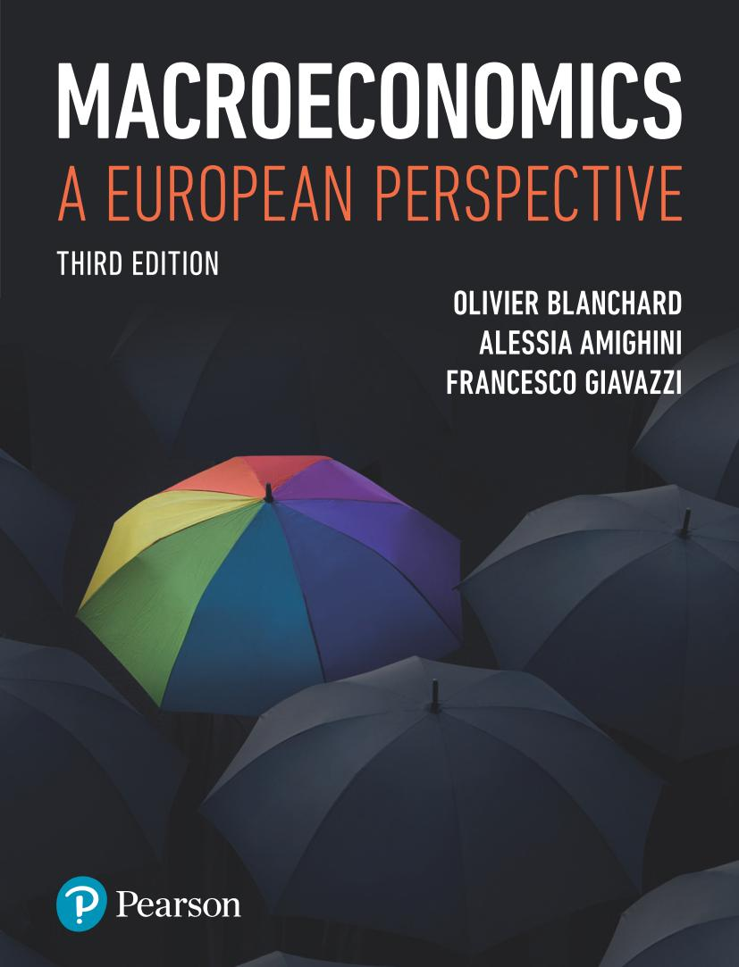 Macroeconomics – A European Perspective (3rd Edition)