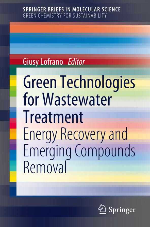 Green Technologies for Wastewater Treatment – Energy Recovery and Emerging Compounds Removal