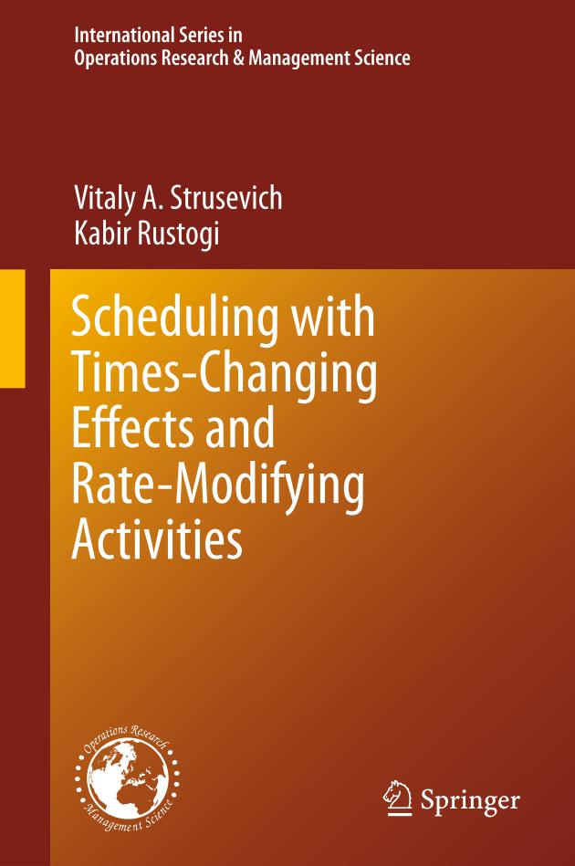 Scheduling with Times-Changing Effects and Rate-Modifying Activities