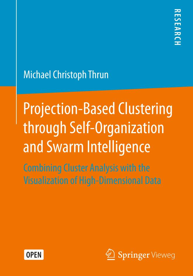 Projection-Based Clustering through Self-Organization and Swarm Intelligence