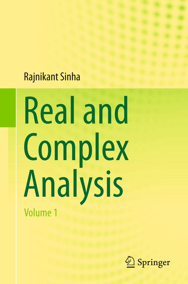 Real and Complex Analysis (Volume 1)