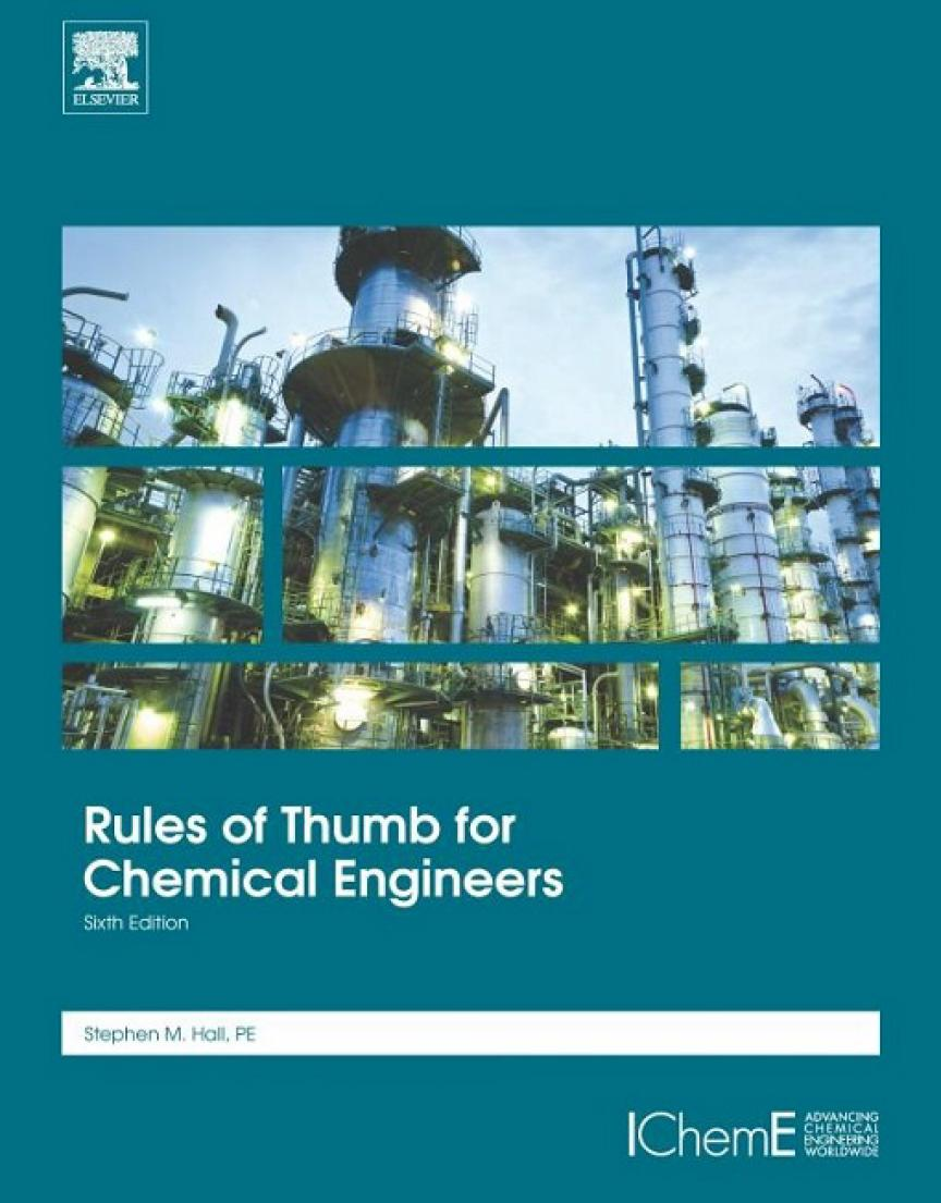 Rules of Thumb for Chemical Engineers (6th Edition)