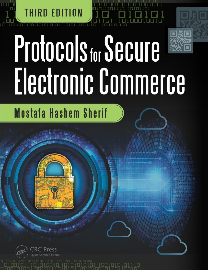 Protocols for Secure Electronic Commerce (3rd Edition)