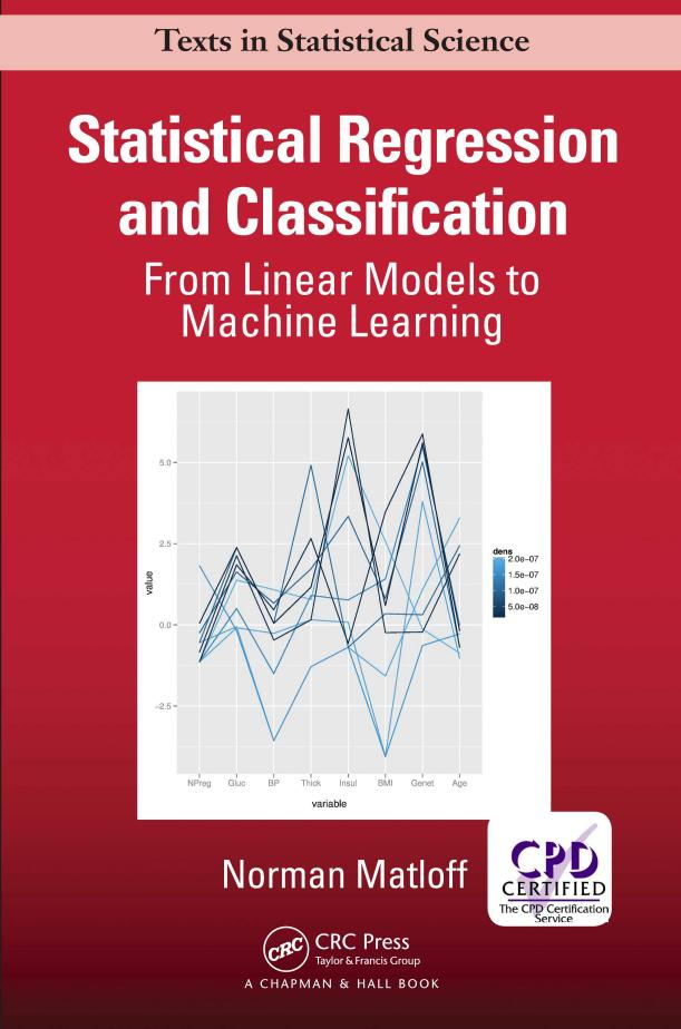 Statistical Regression and Classification – From Linear Models to Machine Learning