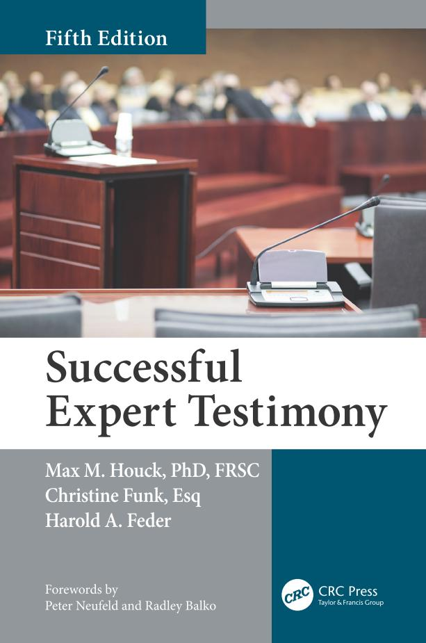 Successful Expert Testimony (5th Edition)