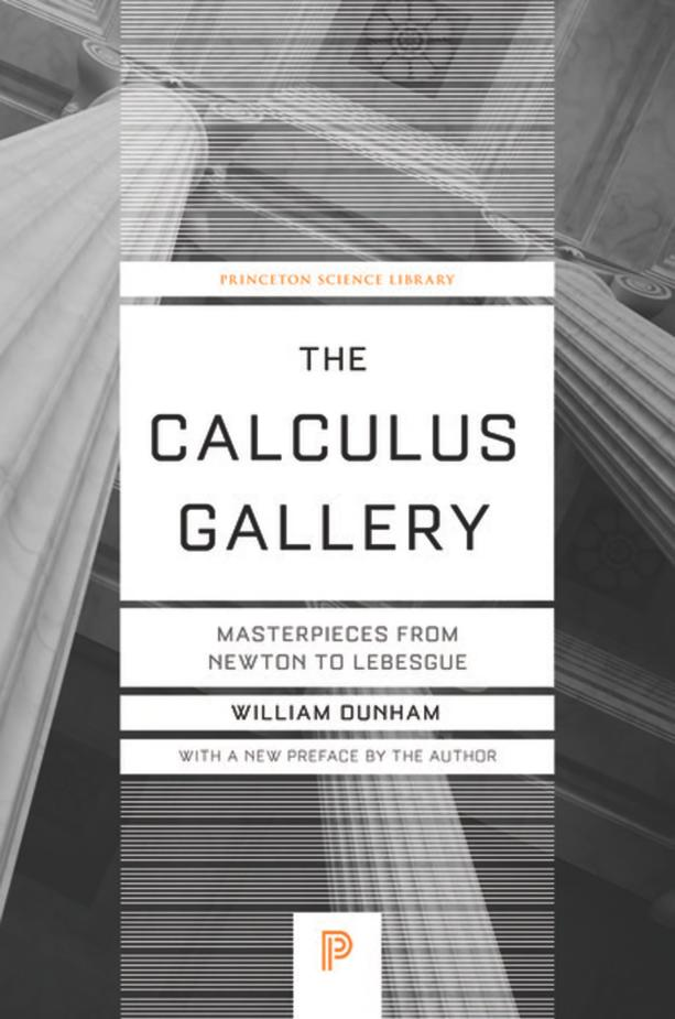 The Calculus Gallery – Masterpieces from Newton to Lebesgue