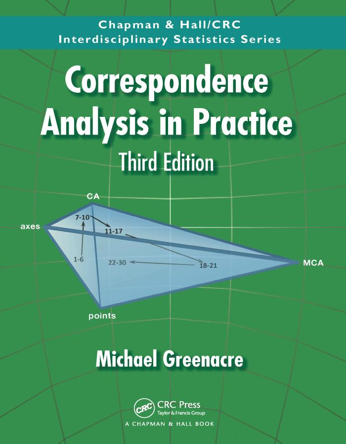Correspondence Analysis in Practice (3rd Edition)