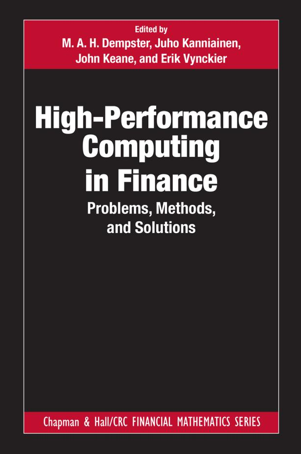 High-Performance Computing in Finance – Problems, Methods, and Solutions