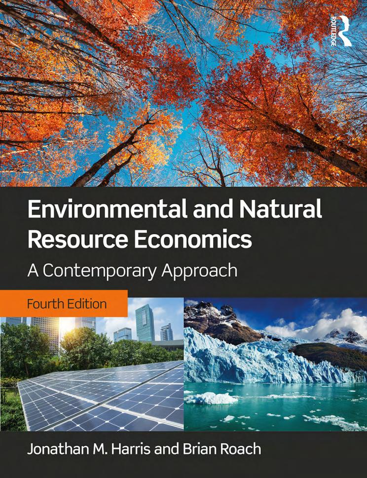 Environmental and Natural Resource Economics – A Contemporary Approach (4th Edition)
