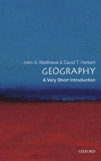 Geography – A Very Short Introduction