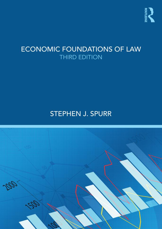 Economic Foundations of Law (3rd Edition)