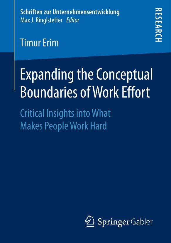 Expanding the Conceptual Boundaries of Work Effort – Critical Insights into What Makes People Work Hard