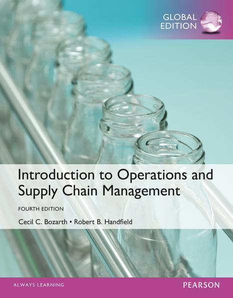 Introduction to Operations and Supply Chain Management (Global Edition, 4th)