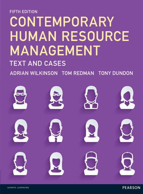 Contemporary Human Resource Management – Text and Cases (5th Edition)