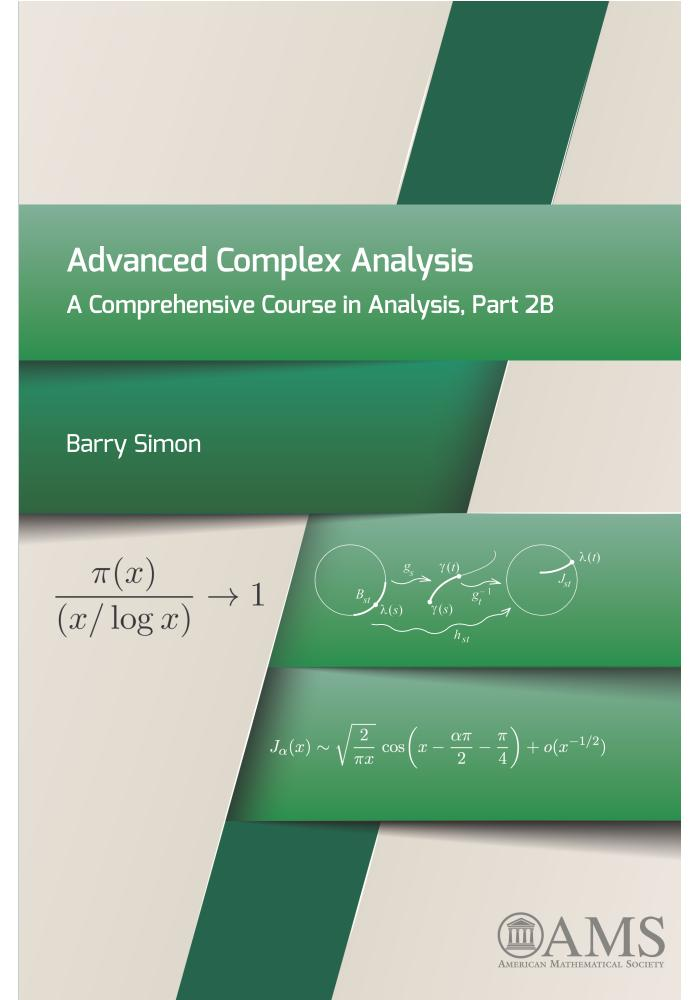 Advanced Complex Analysis – A Comprehensive Course in Analysis, Part 2B