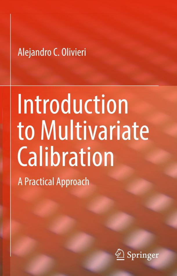 Introduction to Multivariate Calibration – A Practical Approach