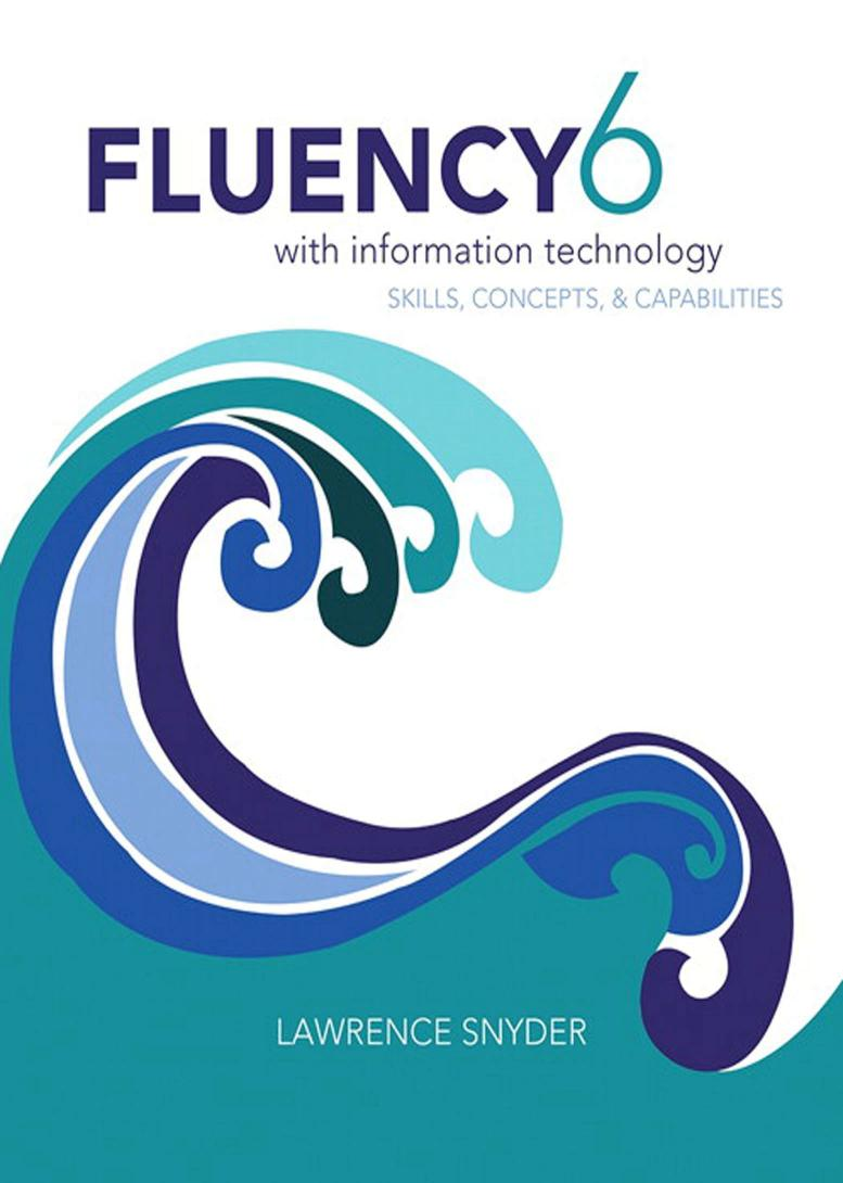 Fluency 6 with Information Technology – Skills, Concepts and Capabilities