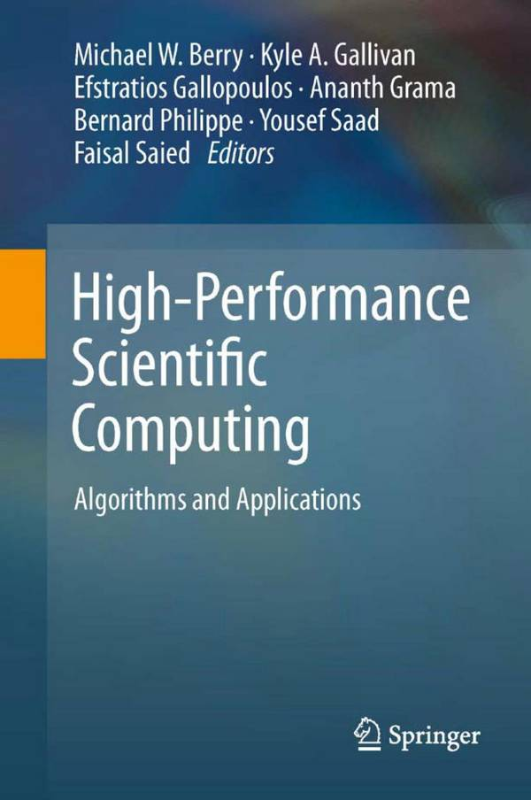 High-Performance Scientific Computing – Algorithms and Applications