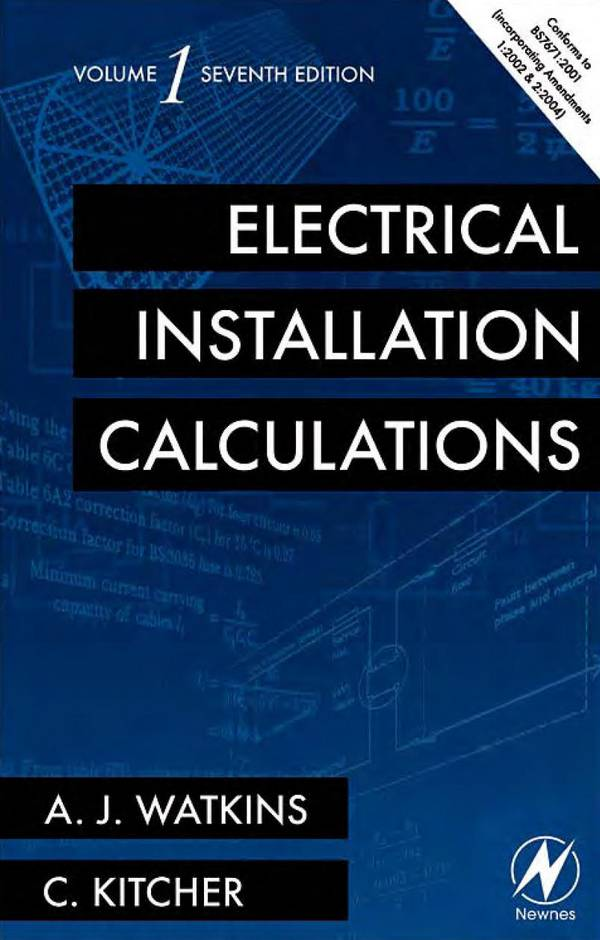 Electrical Installation Calculations (Volume 1, 7th Edition)