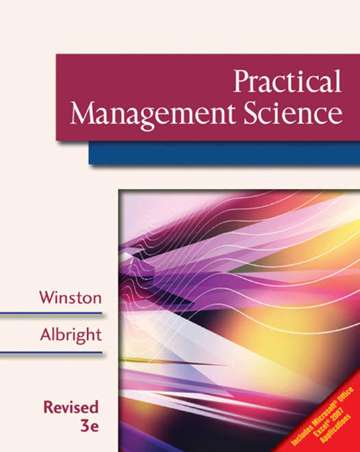 Practical Management Science (3rd Edition)