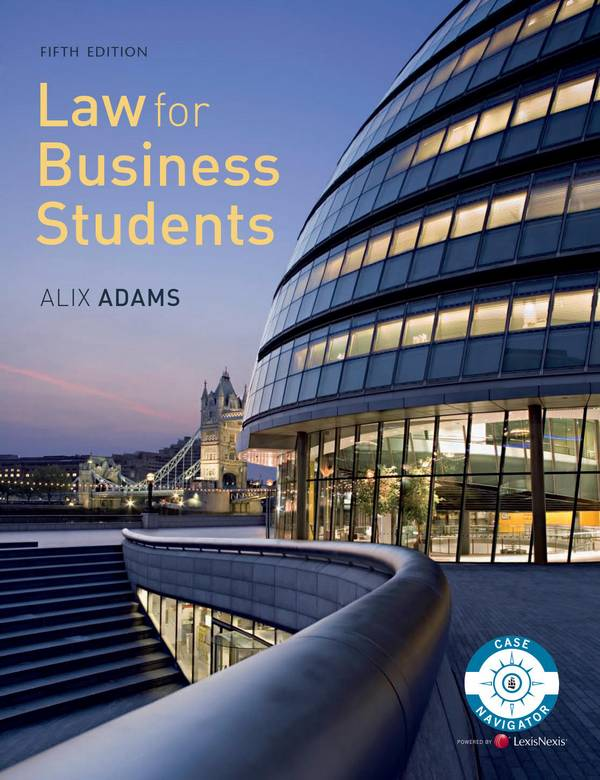 Law for Business Students (5th Edition)