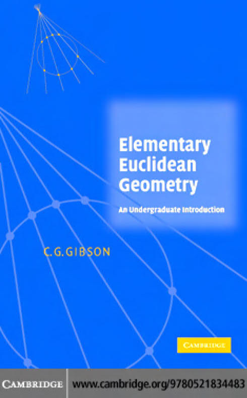 Elementary Euclidean Geometry – An Introduction