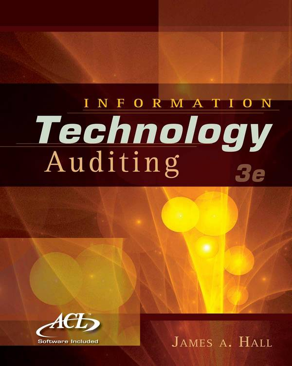 Information Technology Auditing (3rd Edition)