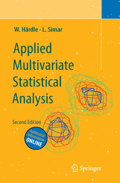 Applied Multivariate Statistical Analysis (2nd Edition)