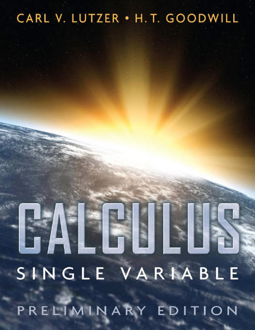 Calculus – Single Variable (Preliminary Edition)