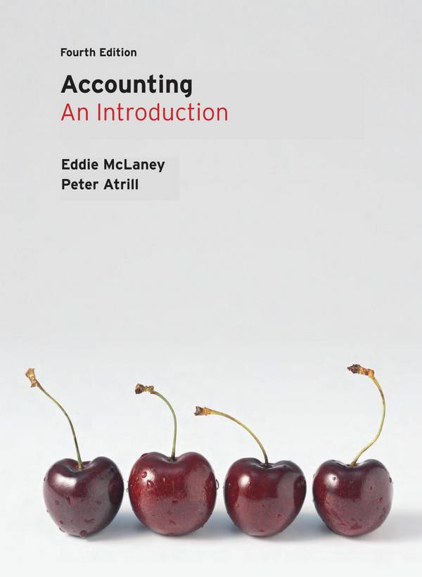 Accounting – An Introduction (McLaney, 4th Edition)