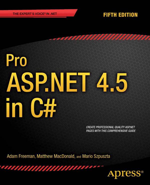 Pro ASP.NET 4.5 in C# (5th Edition)