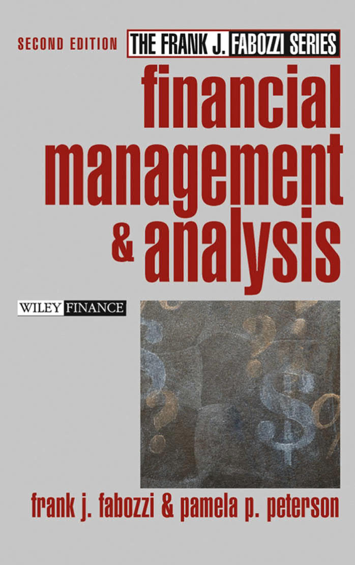 Financial Management and Analysis (2nd Edition)
