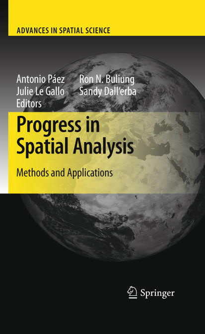Progress in Spatial Analysis – Methods and Applications
