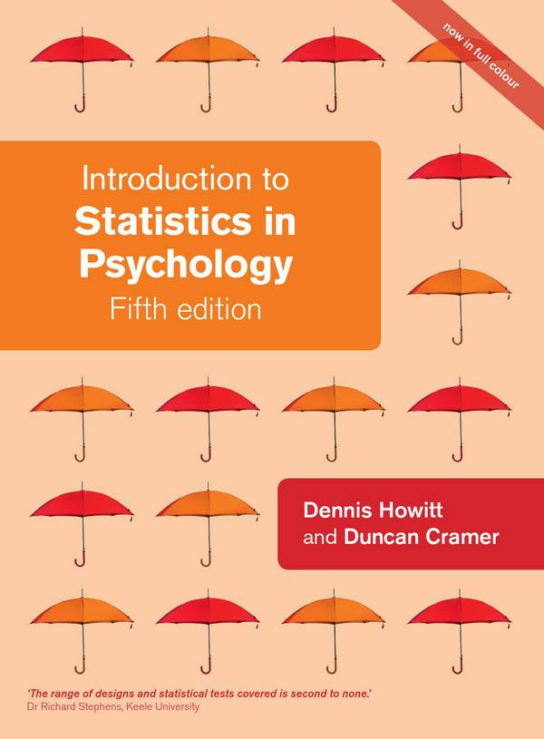 Introduction to Statistics in Psychology (5th Edition)