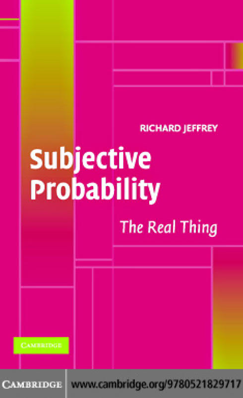 Subjective Probability – The Real Thing