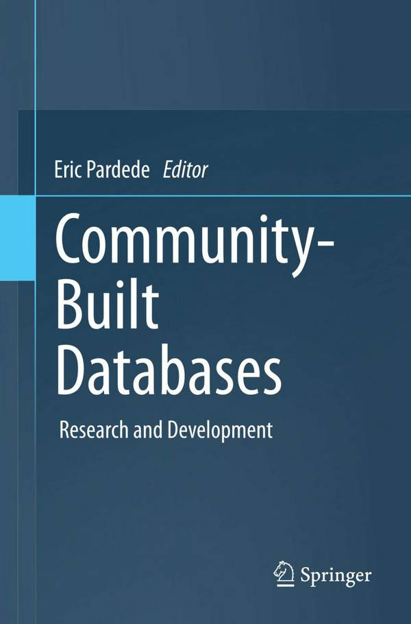 Community-Built Databases - Research and Development