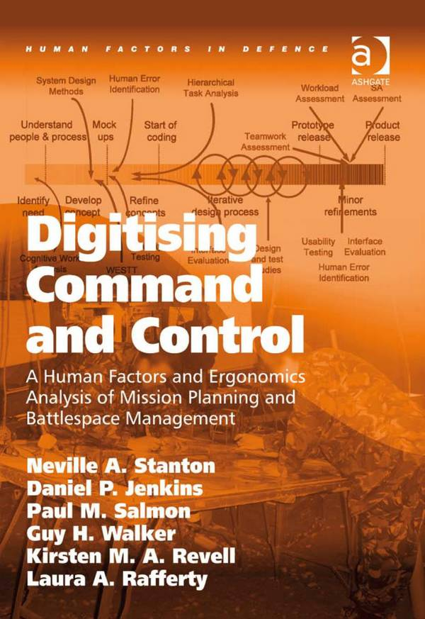 Digitising Command and Control – A Human Factors and Ergonomics Analysis of Mission Planning and Battlespace Management